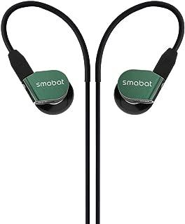 $99 » Smabat ST-10 Ear Hook Earbud, HIFI Metal Earphone. 15.4 mm Dynamic Driver Music Earphone, H HIFIHEAR Inner Ear headphone Titanium Diaphragm Acoustic Low Pass Filter Earbud With Detach MMCX Cable