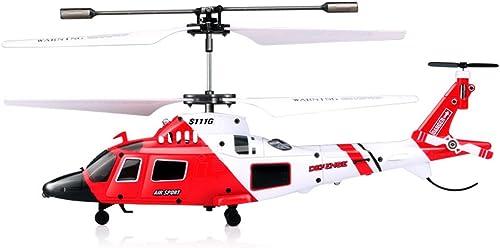 sorteos de estadio SYMA S111G Attack Marines RC Helicóptero con con con Luz LED 3.5CH Helicóptero Teledirigido RC Drone Inastillables Juguetes para Niños.ZHA-GOO  estilo clásico