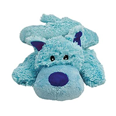 KONG Cozie Baily the Blue Dog, Medium Dog Toy, Blue