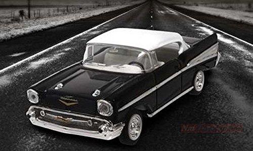 Lucky Die Cast LDC94201BK Chevrolet Bel Air 1957 Black 1:43 MODELLINO Die Cast Compatibile con