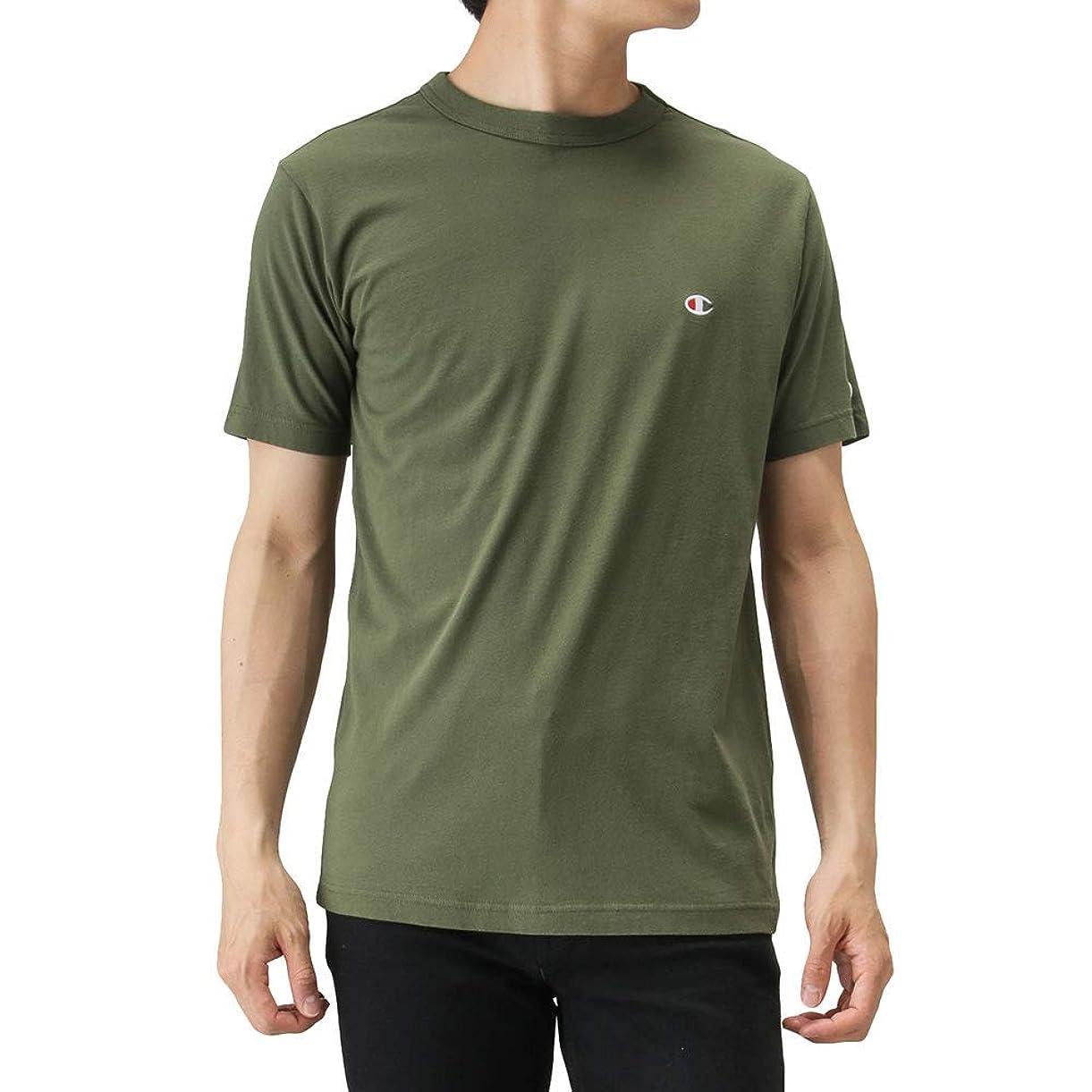 ファイバ驚いた暴露するChampion(チャンピオン) プリントTシャツ 半袖Tシャツ クルーネック C3-P300 メンズ