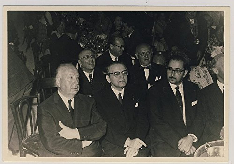 © 1960's SIR ALFrot HITCHCOCK MONARD RÉCEPTION RARE PHOTO ORIGINALE VINTAGE USA NB  FANARTIKEL  KUNSTOBJEKT  B00RFM1QU4 | Feinbearbeitung
