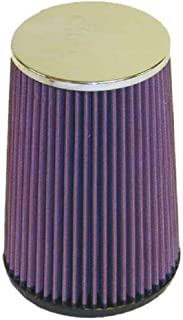 K&N Universal Clamp-On Air Filter: High Performance, Premium, Washable, Replacement Filter: Flange Diameter: 3.25 In, Filter Height: 8 In, Flange Length: 0.625 In, Shape: Round Tapered, RF-1025