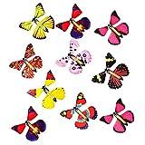 Ceally Jouets Papillons, Jouets Volants pour Enfants, Papillons Volants, Jouets créatifs intéressants