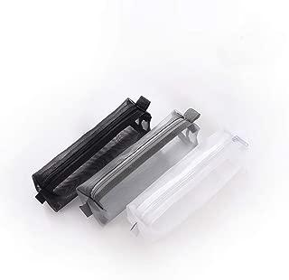 Kinhshion Mesh Pen Bag Pencil Case Makeup Tool Bag Storage Pouch Purse
