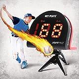 TGU Baseball Gifts, Radar Guns Speed Sensors (Hands-Free) Pitch Training Aids, High-Tech Gadget & Gear, Black (NIS022132023)