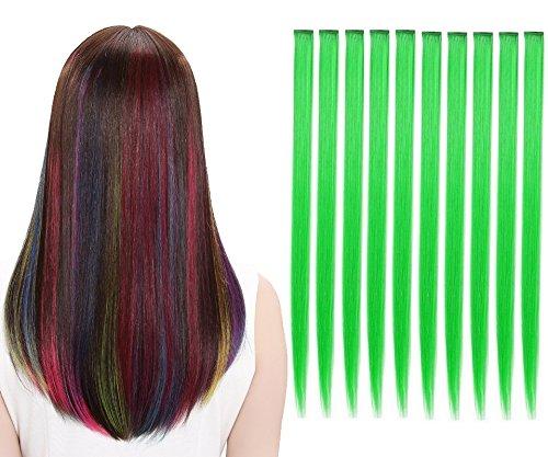 LiaSun 10Pcs set Multi-Colors Tucson Mall Straight Ex Highlight Hair Clip in Max 63% OFF