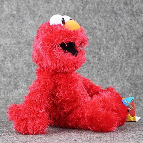 Pluche knuffels,36cm Sesamstraat Knuffels Soft Gevulde Pop Rood Dier Knuffels Cadeaus Voor Kinderen 36 红