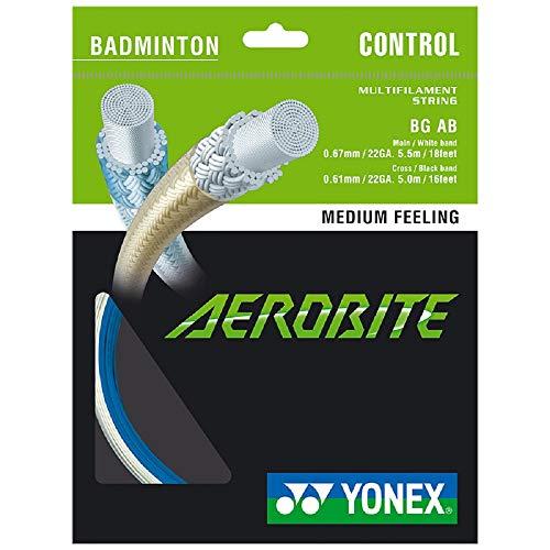Badmintonsaite Yonex Aerobite White/Blue