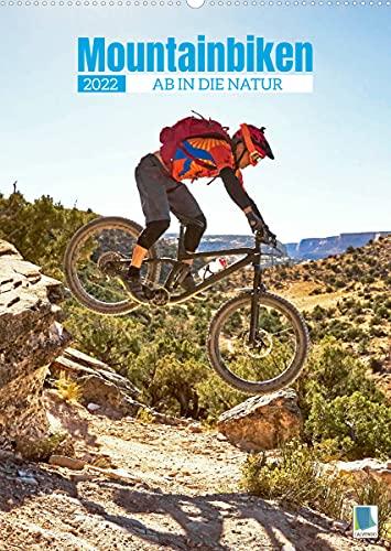 Mountainbiken: Ab in die Natur (Wandkalender 2022 DIN A2 hoch)