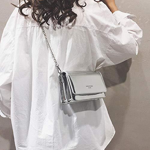 Frauentasche Tasche Dame Tasche Dame Umhängetasche Dame Dame Dame Tasche Dame Silber