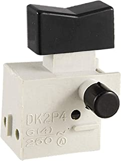 X-DREE AC 220V For UAE 6A Electric Power Hand Drill Tool Trigger Switch(Interruttore a grilletto per trapano elettrico AC ...