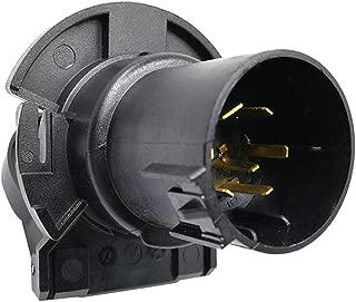 CARROFIX Replacement OE 7 Way RV-Blade Socket (Twist-in USCAR) - Vehicle End