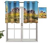 Hiiiman The Mountain Phoenix View, juego de 1, 127 x 45 cm para dormitorio, baño y cocina