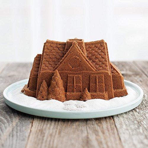 Nordic Ware Gingerbread House Bundt Pan