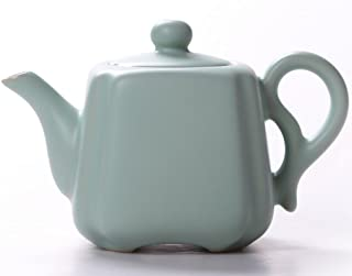 FJH Ru Kiln Teapot Simple Retro Ceramic Teapot Home Chinese Style Tea Set Teapot (Color : D)