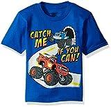 Blaze and the Monster Machines Little Boys' Short Sleeve T-Shirt Shirt, Royal, Small - 4