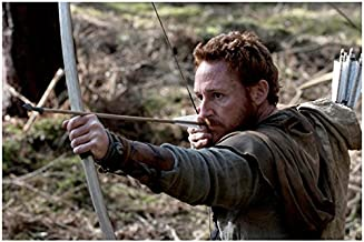 Robin Hood Scott Grimes as Will Scarlet Arms Pointed Out Front Action Shot 8 x 10 Inch Photo