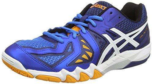 Asics Asics Gel-Blade 5, Herren Squash-Schuhe, Mehrfarbig - Blau (electric Blue/white/navy 3901) - Größe: 45.5 EU