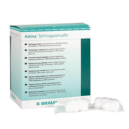 Askina 9016015 Verbände, Schlinggazetupfer, steril pflaumengroß (20-er pack)