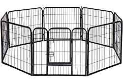 BestPet Dog Playpen Extra Large Heavy Duty 8 Panels 32 Inches