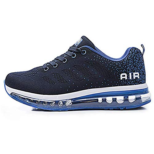 Homme Femme Baskets Chaussures de Course Sneakers Outdoor Running Sports Fitness Gym Shoes(833BL40)