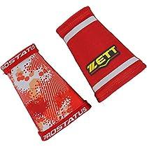 ZETT(ゼット) 野球 リストバンド プロステイタス 昇華リバーシブルリストバンド BW191 レッド FREE