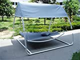 MONEYY Outdoor Hängematte Zwei-Personen Freizeit Outdoor Hängematte, liegend Bett, mit Moskito-Netze 260 * 220 * 200 cm, 260 * 220 * 200 cm