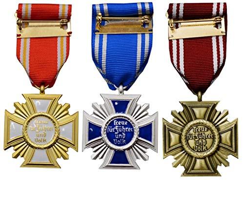 JXS Insignia de Fiesta Alemana WWII, réplica de Medalla Militar, Antiguo Coleccionable...