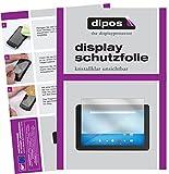 dipos I 2X Schutzfolie klar kompatibel mit 19.0 Zoll Wide 408 x 255 mm Folie Bildschirmschutzfolie