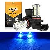 Auxbeam 9005 9006 H10 LED Fog Light Bulbs High Power 50W 3030 SMD...