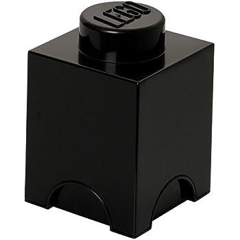 LEGO Bricks - Caja de almacenamiento, color negro (Room Copenhagen 40011733): Room Copenhagen: Amazon.es: Hogar