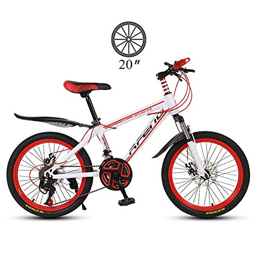 Pliuyb Trafficker Mountain Bike,Variable Speed Bicycle,20 Inch Adult MTB Country Gearshift Carbon Steel Frame Bicycle,Hardtail Mountain Bike