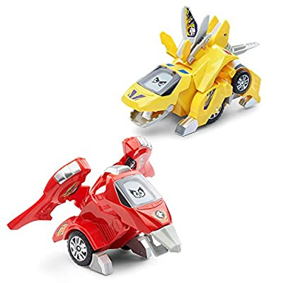 VTech Switch & Go Dinos Animated Dinos 2-Pack with T-Don and Tonn
