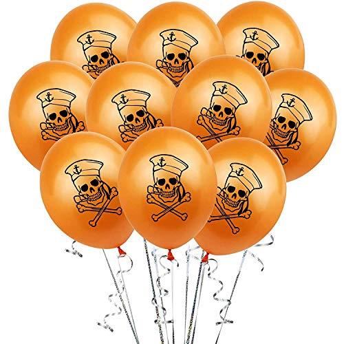 KAEHA SUN-017-00 ballonnen, oranje, 10 stuks