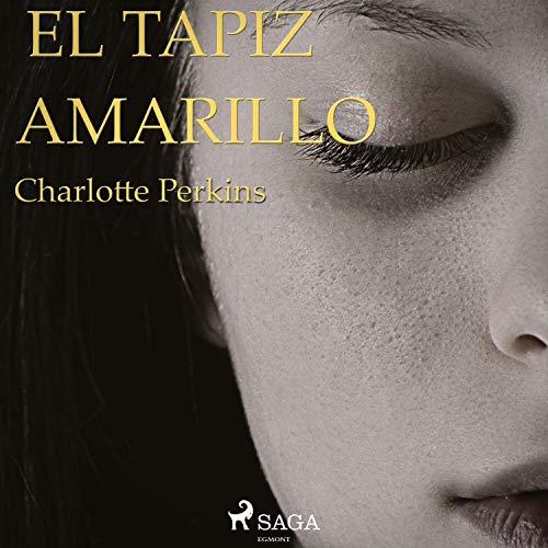 Diseño de la portada del título El tapiz amarillo