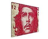 Paul Sinus Art Kunstfoto auf Leinwand 60x40cm Ernesto Che