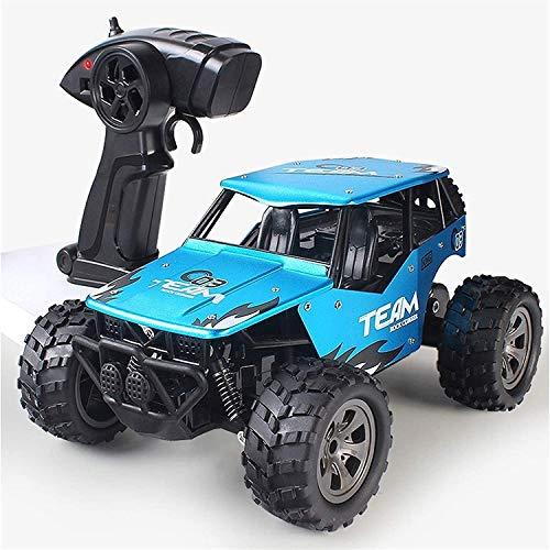 Wangch Terrain RC Car, 4x4 Aleación Control remoto Camión 4WD Radio Control remoto Racing Monster Off-Road Vehículo 2.4GHz Desert Rift Drift Off-Road Vehicle Educational Juguete para adultos y niños R