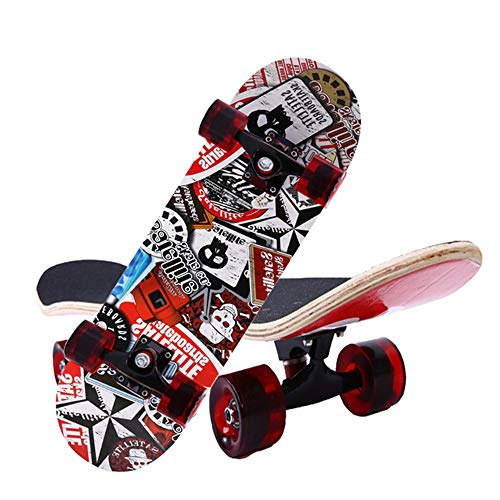 FGKING Kid Skateboard, Radically Intense Acceleration Waveboard with 360 Degree Caster Trucks and Anti Slip Concaved for Kids Ages 8 and Up,4