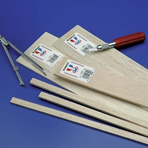 mejor calidad Balsa Strips 1 16 x 1 16 x 36 36 36 (60) by Midwest Products Co.  gran descuento