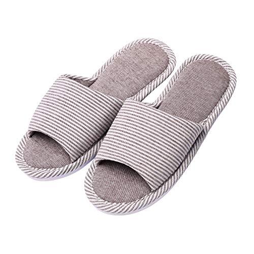 Hawiton Zapatillas de casa Unisex, Cómodo Antideslizantes Pantuflas Suela de Espuma de Memoria,Slipper Mujer Ligero