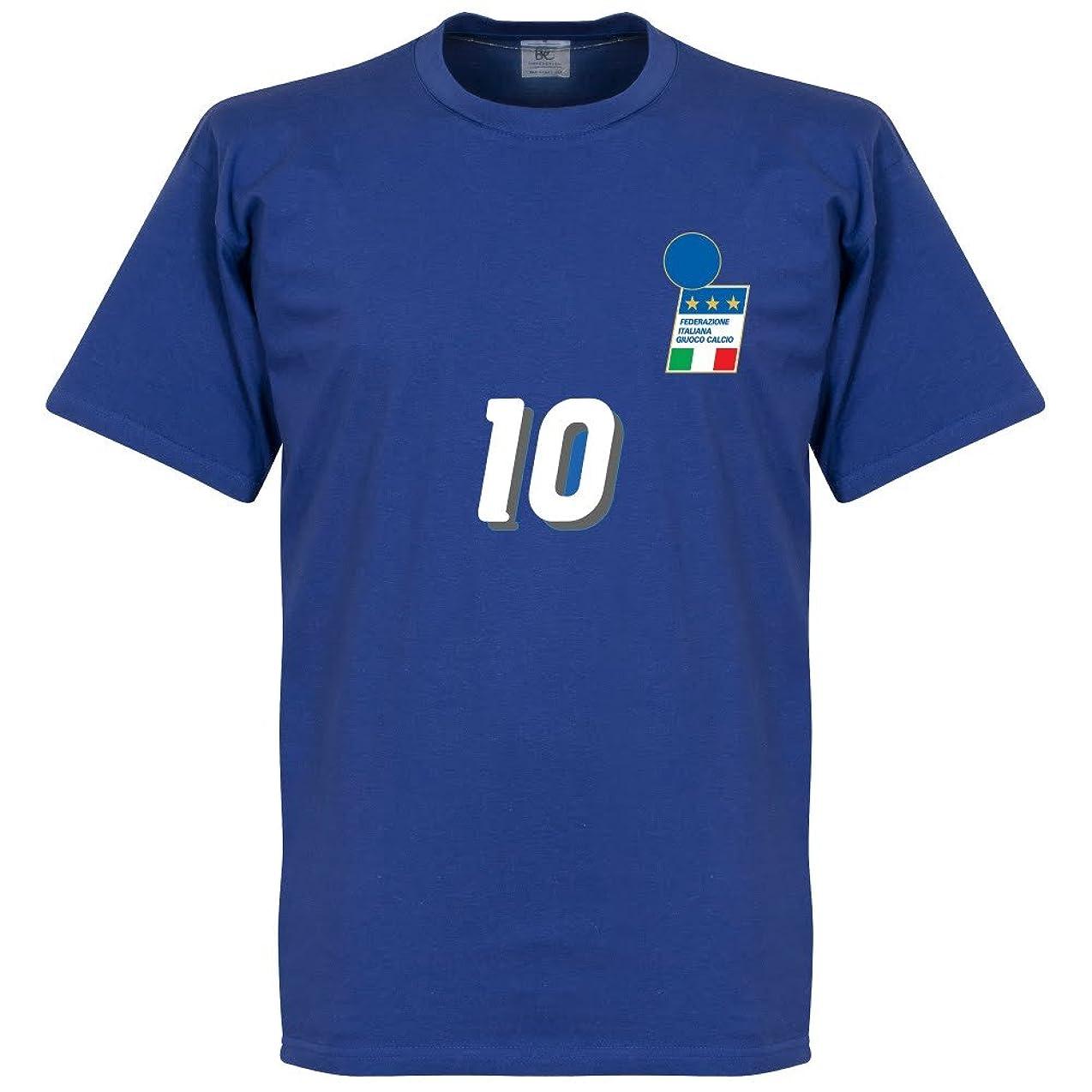残り自然生産的R。Baggio 1994ホームTシャツ?–?ロイヤル