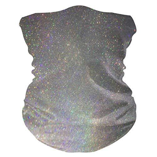 Bardic Face Mask Rose Gold Sparkle Glitter Face Cover Balaclava Breathable Bandana Neck Gaiter for Woman Man (A03)