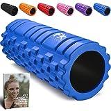 Rodillo de Espuma Foam Roller Pequeño Pilates para Terapia de Masaje – Para Muscular Fitness...