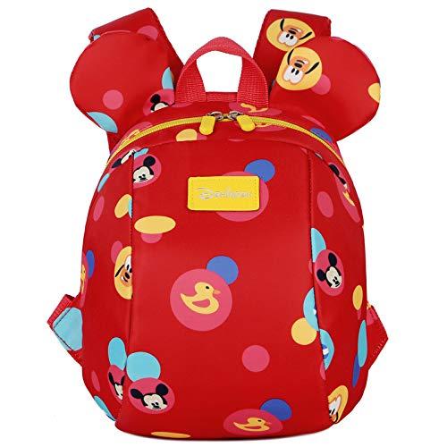 QWKZH Anti-lost met tractie touw rugzak kleine zak kind baby tas meisje mannelijke kind vrouwelijke 1-3-5 jaar oud