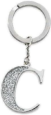 Amazon.com: Ochoos - Llavero de metal con letras y adornos ...