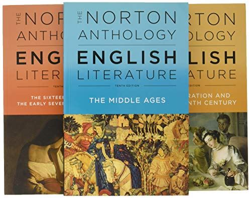 Compare Textbook Prices for The Norton Anthology of English Literature Tenth Edition ISBN 9780393603125 by Greenblatt, Stephen