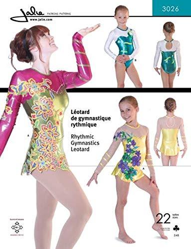 Jalie Damen und Mädchen Schnittmuster 3026Gymnastik Balletttrikot