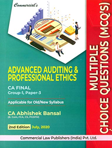 Commercial's Advanced Auditing & Professional Ethics Ca Final Mcqs (Group-1, Paper-3) - 2/E, July 2020