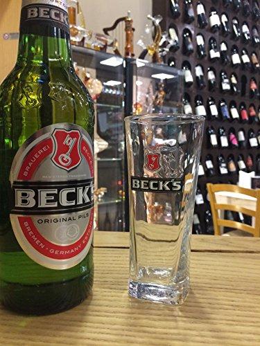 Set bicchieri da birra beck's 0,2 lt